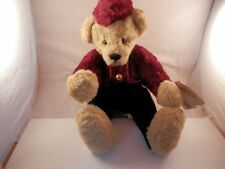 "Ganz Cottage Collectibles Yes No Bear BellHop 16"" 1999"