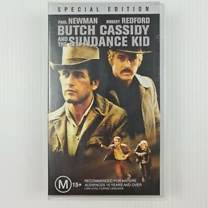 Butch Cassidy and the Sundance Kid VHS - Paul Newman - TRACKED POST