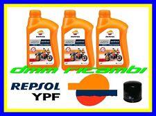 Kit Tagliando YAMAHA T-MAX 500 01>11 + Filtro Olio REPSOL 10W40 TMAX 2007