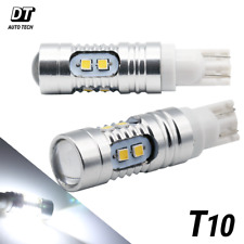 T10 921/912 White LED High Power 30W 700LM Projector Reverse Backup Light Bulbs