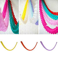 3m Paper Garland Bunting Banner Birthday Wedding Party for Hanging Decoration CN