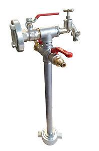 Standrohr Hydrant Mini+  Multi Anschluss: Storz-C, Zapfhahn, GK, System Gardena
