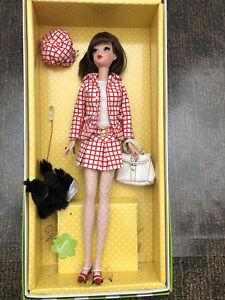 SIlkstone Francie Check Please BARBIE Doll w/ Box, dog & handbag, no stand EUC