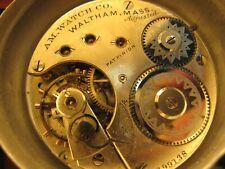 1872 pocket watch movement 16s Waltham Ls Hc model