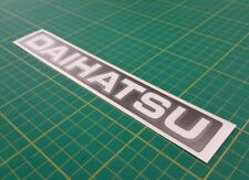 Daihatsu Fourtrak & charade tailgate 220mm  Decals stickers graphics turbo JDM