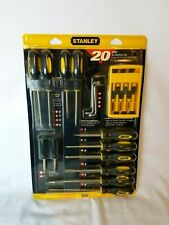 STANLEY 60-220 20-Piece Screwdriver Set NEW