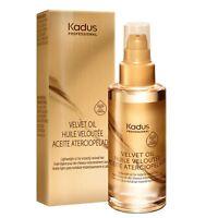 Kadus Velvet Oil 3.4 oz / 100 ml Argan Oil, Vitamin E & Panthenol lightweight