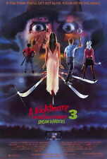 A NIGHTMARE ON ELM STREET 3: DREAM WARRIORS Movie POSTER 27x40 Patricia Arquette