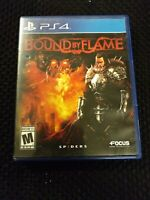 Bound By Flame PS4 ( Sony PlayStation 4 ) | COMPLETE.  FREE SHIPPING