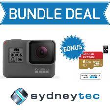 GoPro HERO6 Black 4K Action Video Camera TouchScreen 12 MP CHDHX-601