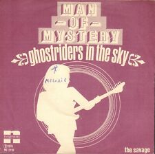 """MAN OF MYSTERY – Ghostriders In The Sky (1976 VINYL SINGLE 7"""" HOLLAND)"""