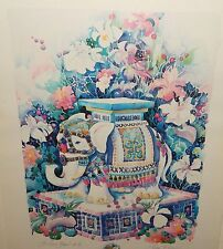"TISHA WHITNEY ""FOR GOOD FORTUNE"" ARTIST PROOF REMARQUE LIMITED SIGNED LITHOGRAPH"