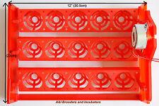 15 Poultry Egg Turning Tray 110Volt motor for Janoel or similar incubator NEW
