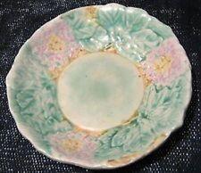 Avon Ware Art Pottery England Majolica Hydrangea Luncheon Plate (loc-B2)