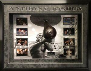 Anthony Joshua Hand Signed Speedball