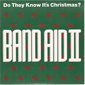 "BAND AID II DO THEY KNOW IT'S XMAS / INSTRUMENTAL france 7"" 45T 873 646-7"