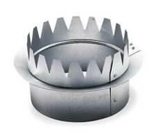 AMERIFLOW G5014C Snap On Collar,Round,Galvanized Steel