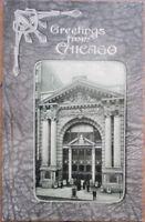 Chicago, IL 1908 Postcard: Colonial Theatre, Art Nouveau Design - Illinois Ill