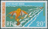 French Polynesia 1971 Sc#C73,SG133 20f Paragliding MNH