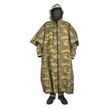 Camo Rain Gear Turkish Military Surplus Army Issue Reversible Poncho Gaiter Set