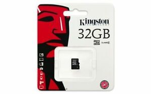 Kingston Technology 32GB SDHC Class 4 Memory Card without Full Size SD Adapt