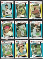 Topps Kmart 20th Anniversary Baseball Card Lot of 9 Thurman Munson Mike Schmidt