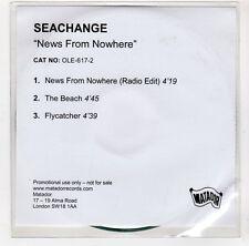 (GI920) Seachange, News From Nowhere - DJ CD