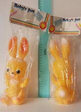 Ledra Coniglio Coniglietto Rabbit Ledra plastic Elefantino Gomma vintage Nuovo