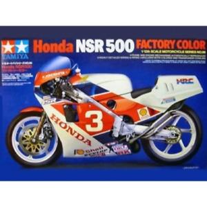 Tamiya 14099 1/12 Honda NSR500 Factory Colour Plastic Model Kit Brand New