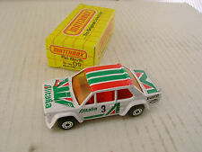 1983 MATCHBOX SUPERFAST #9 09 FIAT ABARTH ALITALIA 3 NEW IN BOX