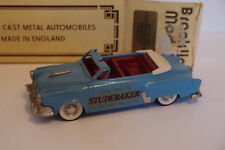 BROOKLIN BRK 17x 1952 STUDEBAKER COMMANDER INDIANAPOLIS PACE CAR 1/43