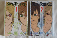 BLAST OF TEMPEST VOLUMI 1-2 (Shirodaira-Sano-Saizaki, Star Comics). COME NUOVI