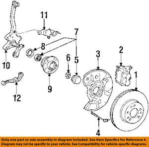 MERCEDES OEM 94-99 S320 ABS Anti-Lock Brake-Sensor 1405401217