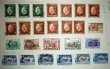 GREECE. 1947. OVERPRINT MILITARY ADMINISTRATION. Σ.Δ.Δ. 25 STAMPS. UNUSED/USED.