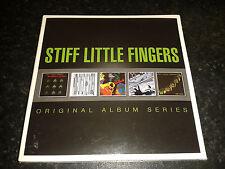 STIFF LITTLE FINGERS - ORIGINAL ALBUM SERIES 5 CD SET 2014 WARNER NEW SEALED