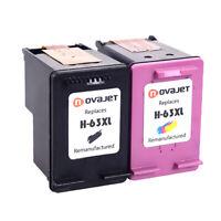 2PK 63XL 63 xl Black Color Ink Cartirdge for HP ENVY 4510 4511 4512 4513 4516