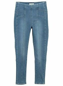 Free People Womens Feel Alright Skinny Jeans Blue Size 29 Seamed Jegging $78 471