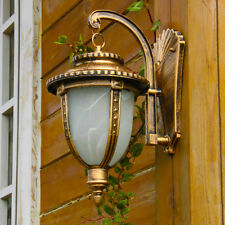 IP44 CLASSIC RUST OUTDOOR SCONCE, WALL LANTERN,WALL MOUNT ,GARDEN  PATIO LAMPS