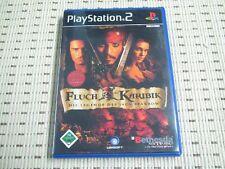 Fluch der Karibik Die Legende des Jack Sparrow für Playstation 2 PS2 PS 2 *OVP*