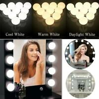 2/6/10/14X LED Maquillage Miroir Ampoule Fête Hollywood Coiffeuse Coiffeuse Lamp