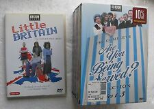 Little Britain (first series) 2 DVD, Are You Being Served (series 1-5) 7 DVD