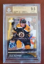 2009 2009-10 UPPER DECK BRAD MARCHAND YOUNG GUNS ROOKIE 452 BGS 9.5 w/ 2 10s