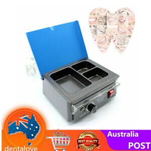 Dental Lab Equipment 3-Pot Analog Wax Heater Paraffin Wax Warmer Dipping Machine