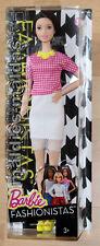 Barbie Fashionistas Glam Party weißen Netzrock DMF32 NEU/OVP Puppe