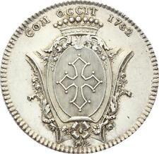 O3609 RARE Jeton Louis XVI Languedoc Droz 1782 Argent SPL ->Faire Offre
