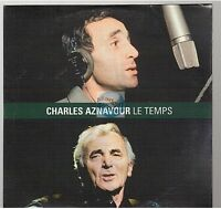 CHARLES AZNAVOUR le temps CD PROMO neuf
