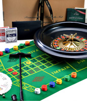 Roulette - Huge 40cm / 16 Inch Roulette Wheel - Roulette Set for Casino Games