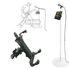 "Music Microphone Stand Holder Mount For 7-11"" Tablet iPad Air 5 4 3 2 SamsungTab"