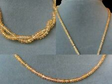 SHIMMERING Imperial TOPAZ FACETED Bead STRAND_106185