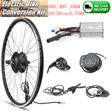 36V/48V Bicicletta Bici Elettrica Motore Mozzo ruota DISPLAY A LED E-Bike kit di conversione
